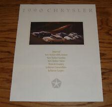 Original 1990 Chrysler Full Line Sales Brochure 90 New Yorker LeBaron Imperial
