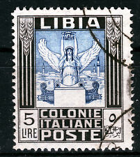 ITAL. Libia a 62 a, o, 5 LIRE libero marchio ANTICA