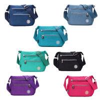 Women Tote Messenger Cross Body Handbag Ladies Canvas Shoulder Bag Waterproof