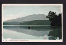 c1907 Mt.Ampersand from Round Lake Adirondack mountains New York postcard