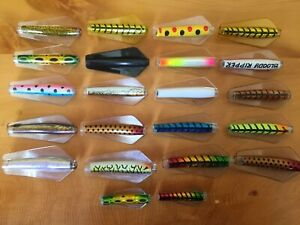 Lot Of 22 Wigstons Tasmanian Tassie Devil Fishing Lures