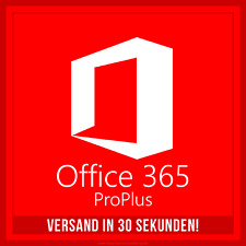 Microsoft Office 365 Pro Plus 2016 | VOLLVERSION | für 5 PC/MAC | 5 TB OneDrive!