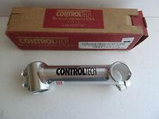 "Control Tech handlebar stem 26.0, 130mm, 1"" threadless, silver - missing bolts"