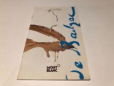 Booklet Catalogue MONTBLANC Honoré de Balzac - Limited Edition - Español
