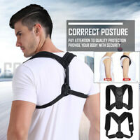 Adjustable Posture Support Corrector Back Straight Shoulders Brace Strap Correct