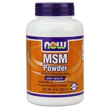 MSM Pure Powder Now Foods 8 oz Powder FAST FREE SHIPPING 1st Class Mail