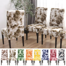 Hotel Home Decor New Dining Chair Seat Cover Removable Elastic Banquet  Kitchen