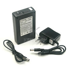 EU DC 12V 6800mAh Portable Rechargeable Li-ion Battery Pack  fr CCTV Cam Monitor