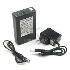 EU DC 12V 6800mAh Portable Rechargeable Li-ion Battery Pack  fr CCTV Cam Monitor
