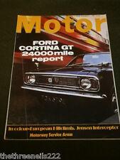 MOTOR MAGAZINE - FORD CORTINA GT - NOV 2 1968