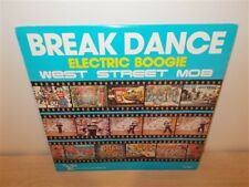 West Street Mob . Break Dance Electric Boogie . Sugarhill Records . LP