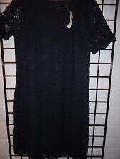 ann taylor navy blue lace design dress size 6T