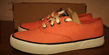 SPERRY TOP SIDER LACE UP ORANGE COMFY SOFT CUSHY INSOLE SHOES WOMEN'S SIZE 7M