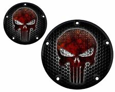 CUSTOM DERBY & TIMER COVER SET FITS ALL HARLEY DAVIDSON BIG TWIN CAM  SPORTSTER