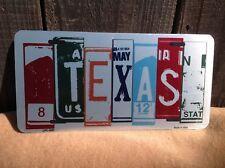Texas License Plate Art Wholesale Novelty Bar Wall Decor