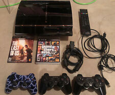 Sony Playstation 3 PS3 Backwards Compatible 60gb CECH-A01 Launch Console Bundle