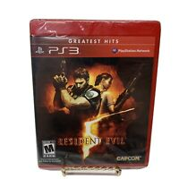 Resident Evil 5 (Sony PlayStation 3, 2009) PS3 Brand New Sealed Free Shipping