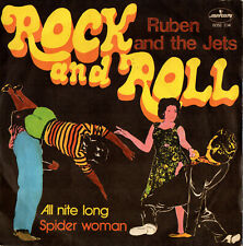 RUBEN AND THE JETS all nite long / spider woman 45RPM 1973 Italy 6052334 ZAPPA