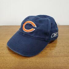 Reebok Infant Baby Size Chicago Bears NFL Baseball Cap Hat Elastic Stretch Fit