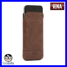 SENA Ultraslim Heritage - genuine leather case/pouch - iPhone 7/8, Cognac Brown