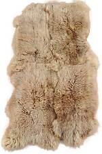 Eco Lambskin Rug Braun Colored 190 X 110 CM fur Carpet