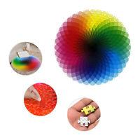 1000PCS Round Rainbow Palette Jigsaw Puzzles Adult Kids Educational Puzzle Gift