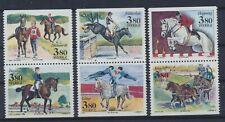 Schweden 1601/06 postfrisch / Pferde (15059) ...................................