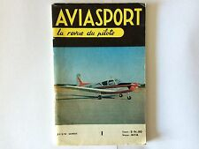 AVIATION REVUE DU PILOTE JUIN 1966 ILLUSTRE AVION