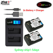 ^_^AU-ship Dual Charger +2xLPE6 LP-E6 LP-E6N for Canon EOS 5D 6D 7D Mark 70D 80D