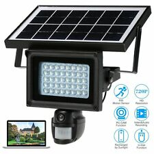 Solar Power Waterproof Outdoor Security DVR Camera With Night Vision TF Card