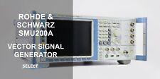 Rohde Amp Schwarz Smu200a 100khz 3ghz Vector Signal Generator Look Ref 875g