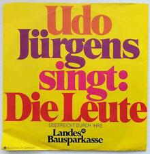 """UDO JÜRGENS 7"""" VINYL Die Leute Promo Werbungsplatte"""