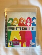 Ps3 Disney Sing It Complete