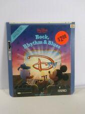 Rock, Rhythm & Blues Disney Mickey Mouse Movie CED VideoDisc Rare Vintage