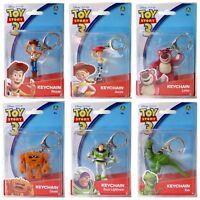 Toy Story 6 Schlüsselanhänger Woody Jessie Lotso Buzz Lightyear Rex Chunk Figur