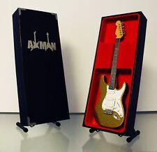Dick Dale Guitar Miniature Replica (UK Seller) Chartreuse Sparkle