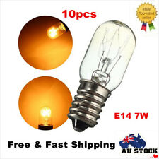 10 x E14 Salt Lamp Globe Bulb 7W for Himalayan Salt Lamp Oven Light Bulbs