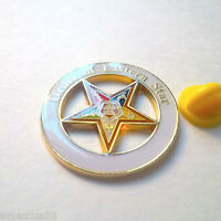 Order Of Eastern Star sisterhood  Large Freemasonry Chapter Masonic Pin