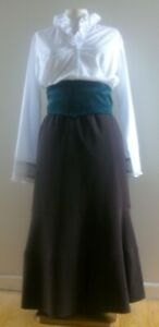 LADIES  VICTORIAN TEACHER / WESTERN FOR FANCY DRESS OR SCHOOL DAYS SIZE 16
