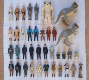 Vintage Star Wars Incomplete The Empire Strikes Back Figures - Choose Your Own