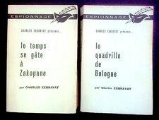 EXBRAYAT - Le Temps se gâte à Zakopane - Le Quadrille de Bologne - Ed 1961-1962