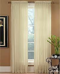 Miller Curtains Preston Sheer Curtain Panel