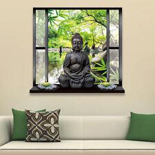 3D Wandtattoo Buddha Landschaft Aufkleber Wandaufkleber Dekoration Wandbilder