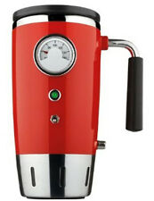 Tech Tools 12V Analog Temperature Gauge Thermal Insulated Auto Mug (Red) PI-4121