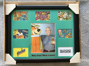 Phil Rizzuto Yoo-Hoo Cartoon Network Autographed Signed Framed One of a Kind
