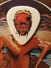 METALLICA Lars Ulrich 2009 tour red zombie guitar pick