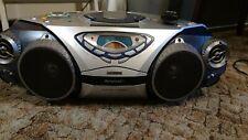 Philips Ghettoblaster AZ2025 CD Radio Kassette Recorder mit Fernbedienung