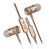 In Ear Wired Headphones Earphones Microphone for iPhone Android Smartphones
