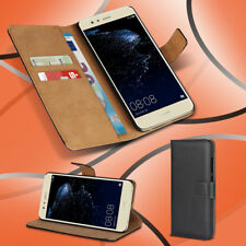 Handyhülle für Huawei P10 Lite Echte Ledertasche Smartphone Cover Flip Cover Bag