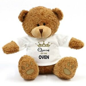 Queen Of The Oven Teddy Bear - Gift, Kitchen